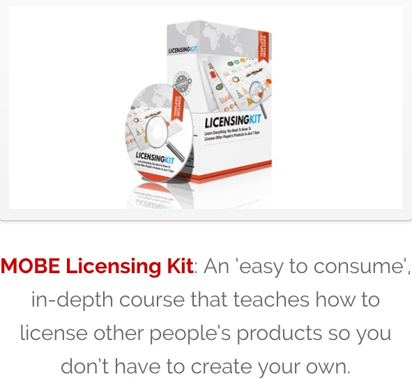 MOBE Licensing kit