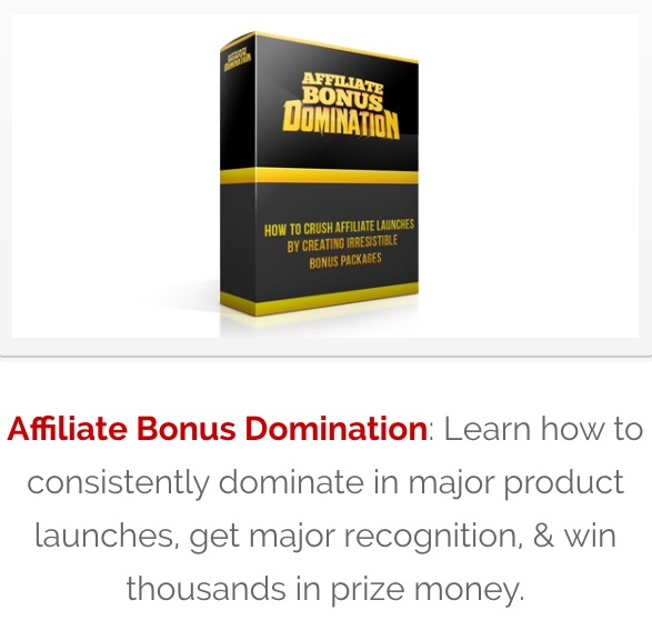 Affiliate Bonus Domination