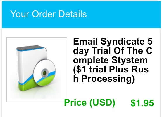 the email syndicate price