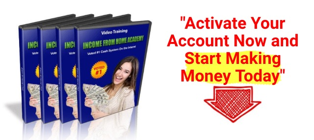 Income From Home Academy Training