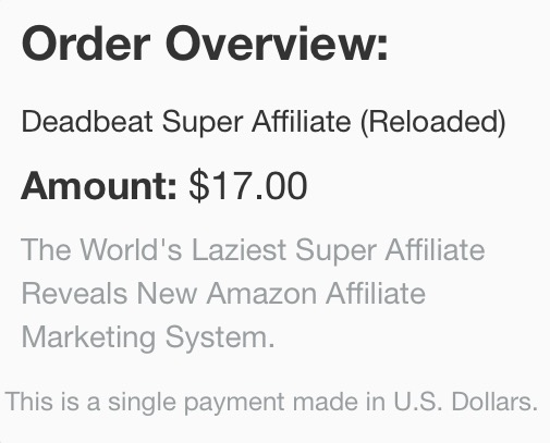 Deadbeat Super Affiliate price